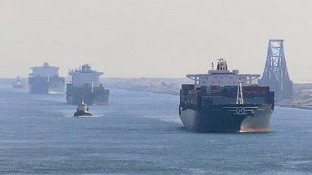 Declines in Tanker Traffic Highlighted in BIMCO Report on Suez Canal