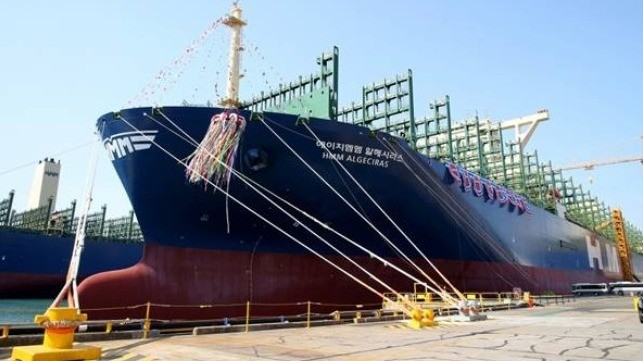 In Down Market, HMM Takes Delivery of World's Biggest Boxship