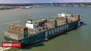 Ever Given: Cargo ship that blocked Suez Canal arrives in Felixstowe