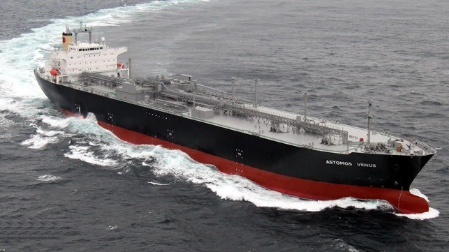 Japan's First Domestically Built LPG-Fueled LPG Carrier