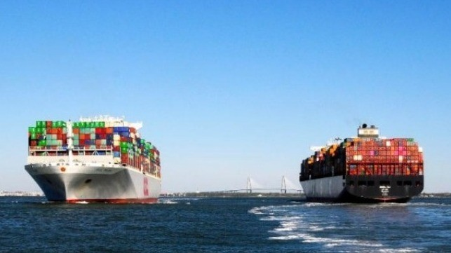 Global Container Ship Trade Suffers Capacity Drop