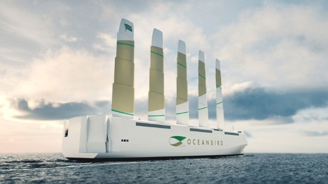 Swedish Collaboration Unveils World's Largest Sail Powered Car Carrier
