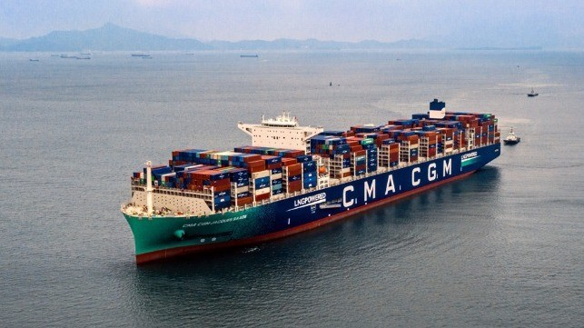 CMA CGM to Expand US Pacific Route with First LNG-Fuel Boxships