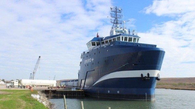 U.S.'s First Tri-Fuel Vessels Feature Battery, Diesel and LNG Power