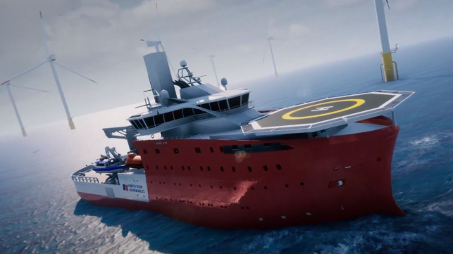 North Star Wins SOV Contract for World's Largest Offshore Wind Farm